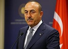 Dışişleri Bakanı Mevlüt Çavuşoğlu, KKTC Cumhurbaşkanı Ersin Tatar'la görüştü