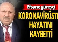 Efsane güreşçi Reşit Karabacak koronavirüsten hayatını kaybetti