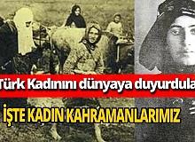 """Emin Altıner yazdı: """"Ey kahraman Türk kadını, sen yerde sürünmeye değil, omuzlar üzerinde göklere yükselmeye layıksın..."""""""