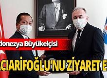 Endonezya Büyükelçisi'nden Antalya Büyükşehir Belediye Başkanvekili Hacıarifoğlu'na ziyaret