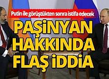 Ermenistan medyasından flaş iddia! Paşinyan istifa edecek!