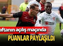 Fatih Karagümrük, Sivasspor ile berabere kaldı