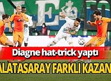 Galatasaray deplasmanda Rizespor'u farklı mağlup etti
