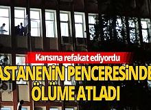 Gaziantep'te hastane odasının penceresinden atlayıp, intihar etti