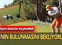 Golf turizminde büyük kayıp! '210 milyon dolar'