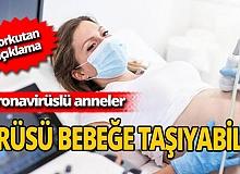 Hamile anneler koronavirüsü bebeğine bulaştırıyor mu? Prof. Dr. Selahattin Kumru açıkladı!