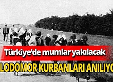 Holodomor kurbanları Türkiye'de anılıyor