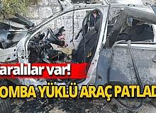 İdlip'te bomba yüklü araç patladı