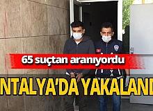 İnternet dolandırıcısı Antalya'da yakalandı