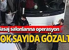 İskenderun'da masaj salonu operasyonu; 19'u yabancı 22 kadın gözaltında