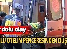 İstanbul'da genç yabancı uyruklu kadın pencereden düştü