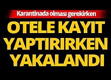 İstanbul'da karantinadaydı, Kastamonu'ya tatile gitti