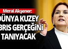 İYİ Parti Genel Başkanı Meral Akşener'den Kıbrıs açıklaması