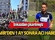 İzmir depreminde yıkılan Doğanlar Apartmanı enkazından kurtarılan Malik Tahirler hayatını kaybetti