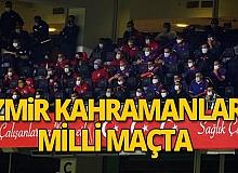 İzmir kahramanlarına moral maçı