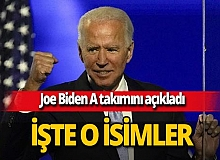 Joe Biden A takımını açıkladı! Dışişleri Bakanlığı'na Antony Blinken getirilecek