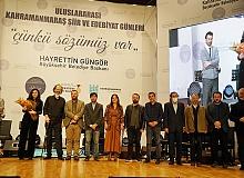 Kahramanmaraş'ta edebiyat ödülleri sahiplerini buldu
