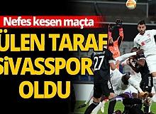 Karabağ - Sivasspor maçı sona erdi