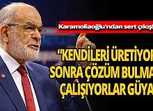"""Karamollaoğlu """"Kendileri üretiyor"""" dedi, Avrupa'ya tepki gösterdi"""