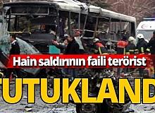 Kayseri patlamasının faili 'Fırat Botan' kod adlı terörist tutuklandı