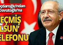 Kemal Kılıçdaroğlu'ndan Ahmet Davutoğlu'na 'geçmiş olsun' telefonu