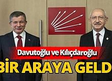 Kemal Kılıçdaroğlu ve Ahmet Davutoğlu görüştü
