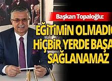 Kemer Belediye Başkanı Necati Topaloğlu'ndan Öğretmenler Günü mesajı