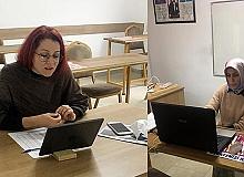 Kemer'de online eğitime geçildi