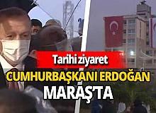 KKTC'de büyük gün! Cumhurbaşkanı Erdoğan Maraş'ta