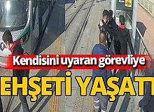 Konya'da kendisini uyaran güvenlik görevlisini bıçakladı