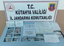 Kütahya Simav'da tarihi eser kaçakçılığı operasyonu