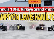 Formula 1 DHL Türkiye Grand Prix'i şampiyonu Hamilton