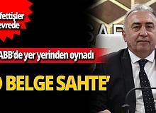 Mehmet Hacıarifoğlu başkan vekilliği görevinin sona erdiğini bildiren o belgenin sahte olduğunu iddia etti