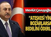 """Mevlüt Çavuşoğlu: """"Süreci kardeş Azerbaycan ile koordine ettik"""""""