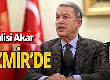Milli Savunma Bakanı Akar ve TSK komuta kademesi İzmir'de