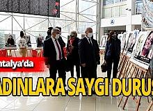 Muratpaşa'da kadınlar için sergi açıldı