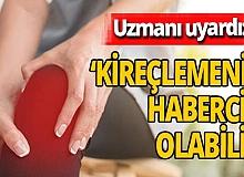 Op. Dr. Yunus Kıraç uyardı: 'Diz ağrısı kireçlemenin habercisi olabilir'