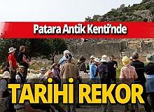 Patara Antik Kenti'nde ziyaretçi ve gelir rekoru kırıldı