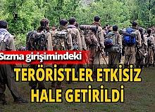 PKK'ya darbe! MSB'dan müjdeli haber