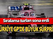 Türkiye GP'de Pole pozisyonunu Lance Stroll aldı