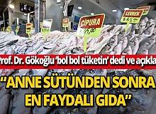 """Prof. Dr. Mehmet Gökoğlu: """"Türkiye'de balık tüketimi az"""""""