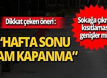Prof. Dr. Osman Müftüoğlu'ndan sokağa çıkma kısıtlaması ile ilgili dikkat çeken öneri