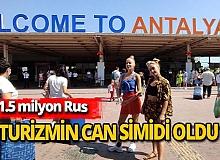 Ruslardan turizme büyük katkı