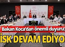 Sağlık Bakanı Fahrettin Koca'dan önemli İstanbul paylaşımı