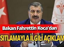 Sağlık Bakanı Fahrettin Koca'dan sokağa çıkma kısıtlamasıyla ilgili açıklama