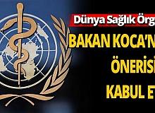 """Sağlık Bakanı Fahrettin Koca önerdi DSÖ kabul etti! 2021 yılı tüm dünyada """"Sağlık Çalışanları Yılı"""" ilan edildi"""