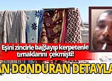 Şanlıurfa'da eşine günlerce işkence yapan sanık İlyas Arık'a 34 yıl hapis istemi