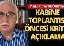 Sokağa çıkma kısıtlaması kararı alınır mı? Bilim Kurulu Üyesi Prof. Dr. Tevfik Özlü açıkladı!