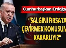 """Son dakika! Cumhurbaşkanı Erdoğan: """"Her başarının altında imzamız var"""""""