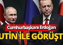 Son dakika! Cumhurbaşkanı Recep Tayyip Erdoğan ile Vladimir Putin arasında kritik görüşme